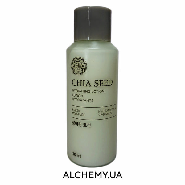 Увлажняющая эссенция для лица THE FACE SHOP Chia Seed Hydrating Lotion 30ml Alchemy.com.ua