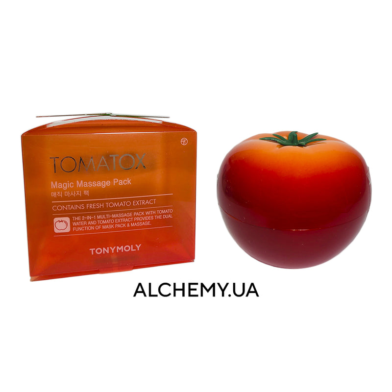 Osvetlyayushaya tomatnaya maska TONY MOLY Tomatox Magic Massage Pack 80 g