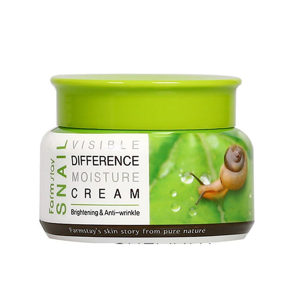 Улиточный крем Farm Stay Vissible Difference Moisture Snail Cream 100 ml Alchemy.com.ua