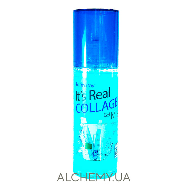 Гелевый мист с коллагеном FarmStay It's Real Collagen Gel Mist 120 ml Alchemy.com.ua