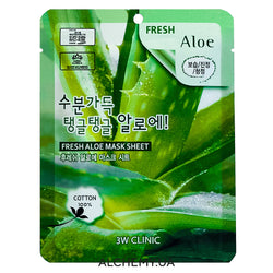 Тканевая маска 3W CLINIC Fresh Mask Sheet Aloe