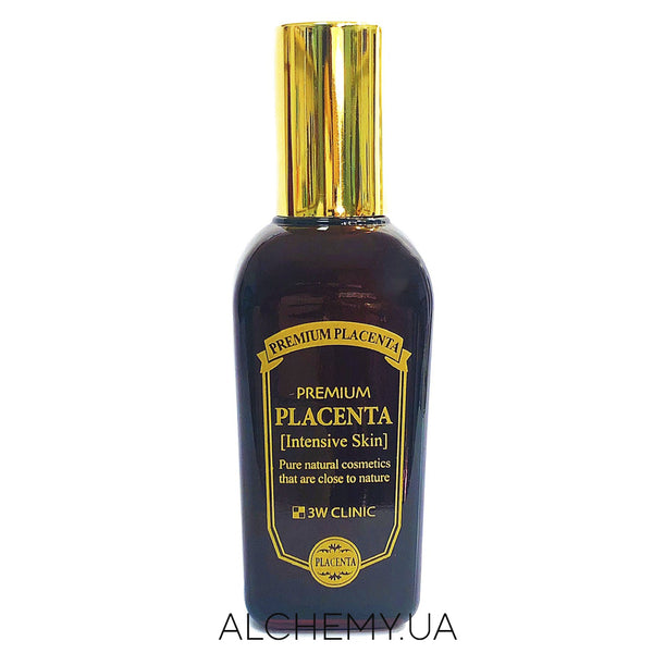 Антивозрастной тонер 3W Clinic Premium Placenta Intensive Skin 145 ml Alchemy.com.ua