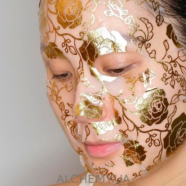 Тканевая дизайнерская маска NOHJ Modeling Mask Serum Chrysanthemum Alchemy.com.ua