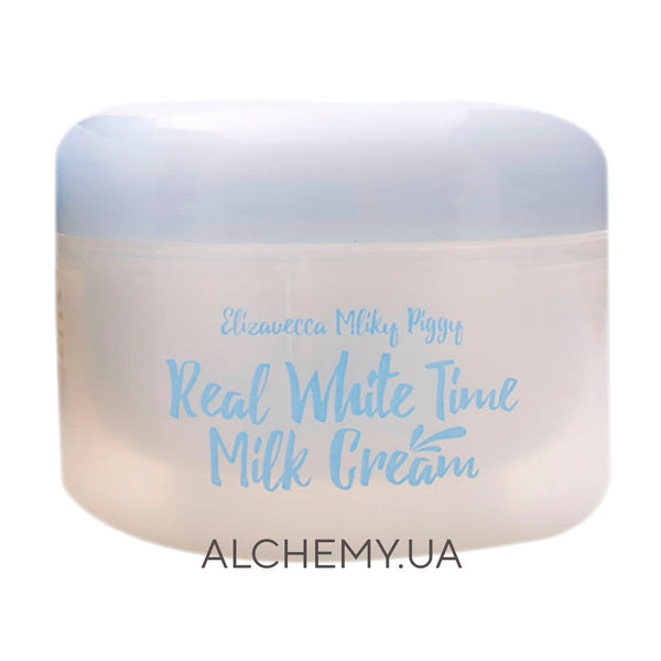 Осветляющий крем для лица Elizavecca Milky Piggy Real White Time Milk Cream