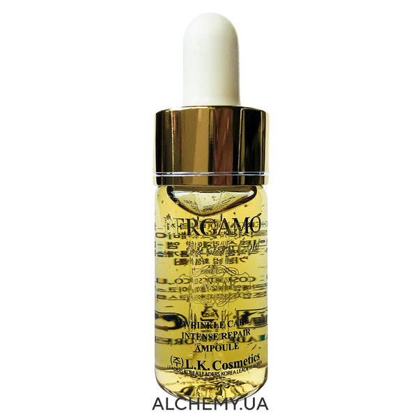 Восстанавливающая сыворотка BERGAMO Luxury Gold Collagen & Caviar Ampoule 13ml Alchemy.com.ua
