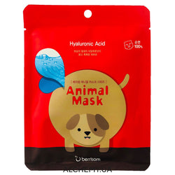 Tkanevaya maska s printom BERRISOM Animal Mask Series Dog