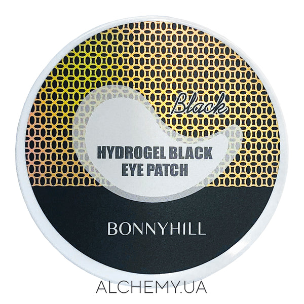 Gidrogelevye patchi s zolotom Bonnyhill Hydrogel Black Eye Patch