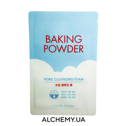 Пробник очищающей пенки с содой Etude House Baking Powder Pore Cleansing Foam