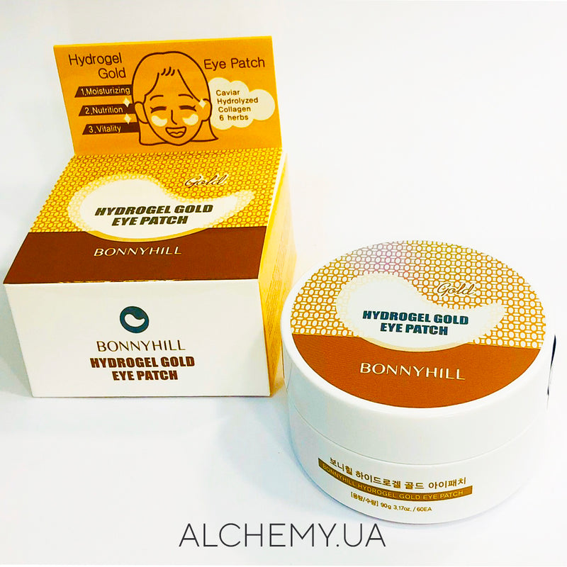 Gidrogelevye patchi s zolotom Bonnyhill Hydrogel Gold Eye Patch