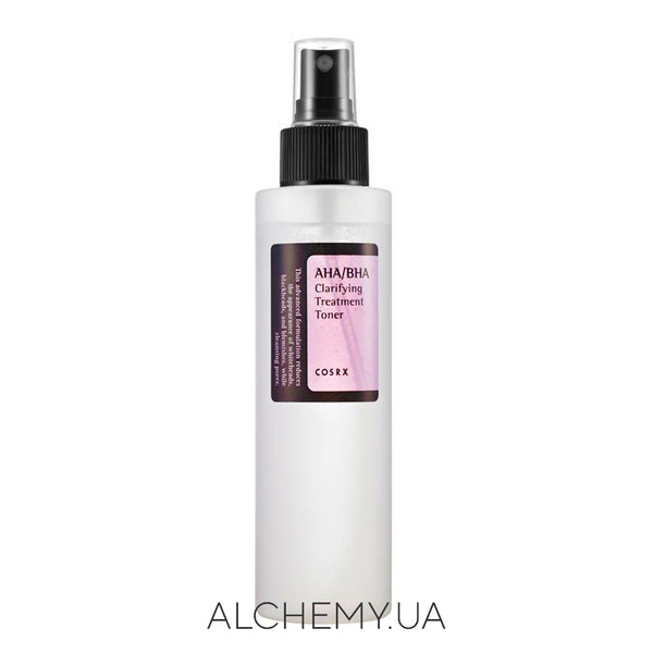 Тоник с АНА и ВНА кислотами COSRX AHA/BHA Clarifying Treatment Toner 150 ml Alchemy.com.ua