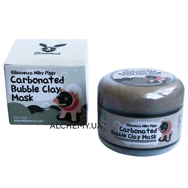Ochishayushaya kislorodnaya maska ELIZAVECCA Carbonated Bubbled Clay Mask 100g