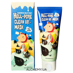 Maska-plenka ot chyornyh tochek ELIZAVECCA Milky Piggy Hell Pore Clean Up Mask 100ml