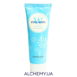 Penka dlya umyvaniya s kollagenom ENOUGH W Collagen Pure Shining Foam Cleansing 100ml