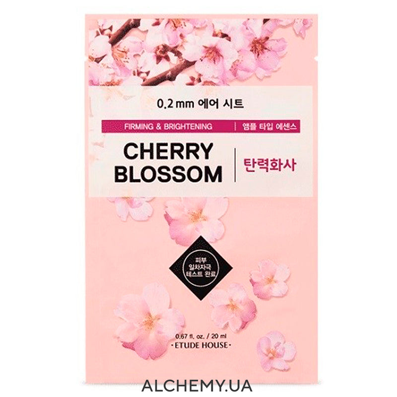 Тканевая маска ETUDE HOUSE 0.2 Therapy Air Mask Cherry Blossom