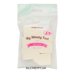 Повседневные спонжи ETUDE HOUSE My Beauty Tool House Sponge Alchemy.com.ua