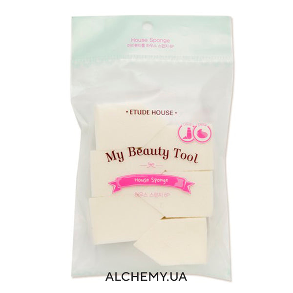 Повседневные спонжи ETUDE HOUSE My Beauty Tool House Sponge