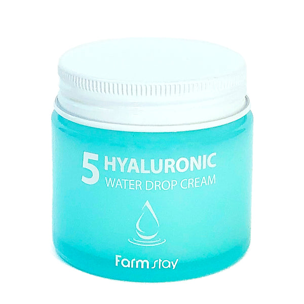 Увлажняющий крем FarmStay 5 Hyaluronic Water Drop Cream с гиалуроновой кислотой