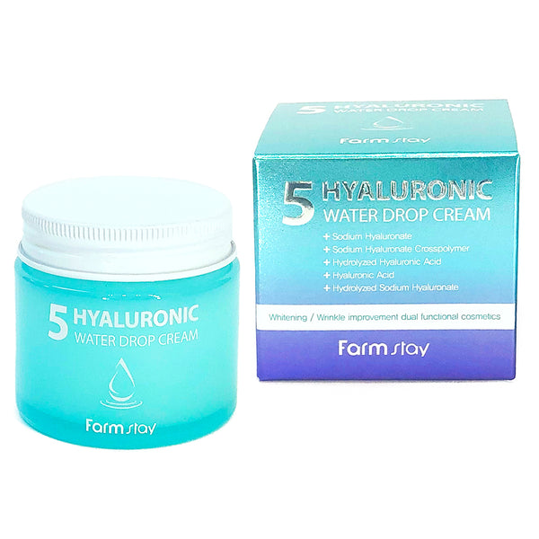Увлажняющий крем FarmStay 5 Hyaluronic Water Drop Cream