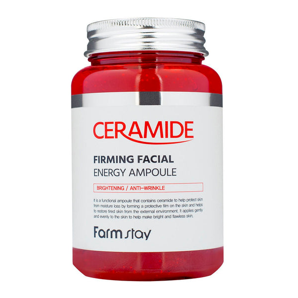 Ампульная cыворотка с керамидами  FarmStay Ceramide Firming Facial Energy Ampoule 250 ml