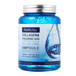 Сыворотка Farm Stay Collagen&Hyaluronic Acid All In One Ampoule