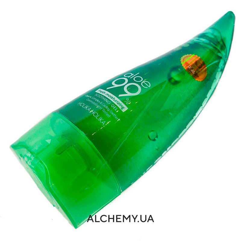 Universalnyj gel Holika Holika 99% Aloe Soothing Gel (250ml/55ml)