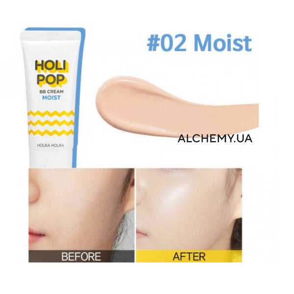 Uvlazhnyayushij BB-krem Holika Holika Holi Pop BB Cream Moist 30ml SPF30 PA++