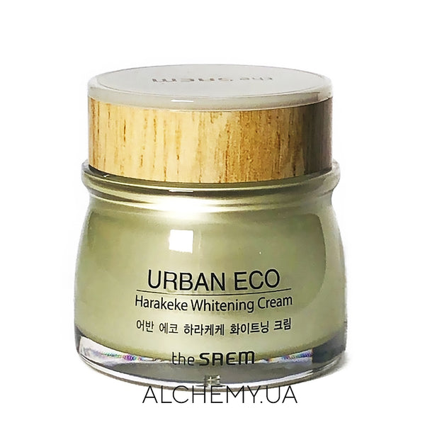 Otbelivayushij krem The Saem Urban Eco Harakeke Whitening Cream 60 ml