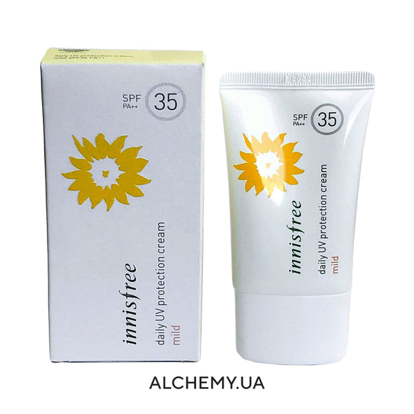 Солнцезащитный крем Innisfree Daily UV Protection Cream Mild SPF 35PA++