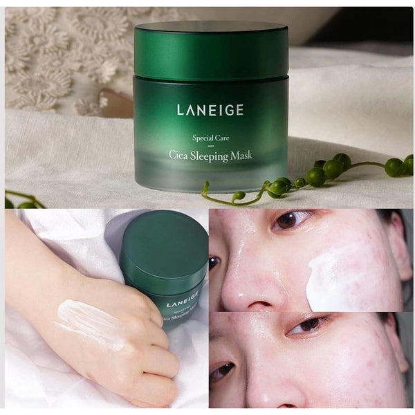 Ночная маска с центеллой азиатской Laneige Cica Sleeping Mask
