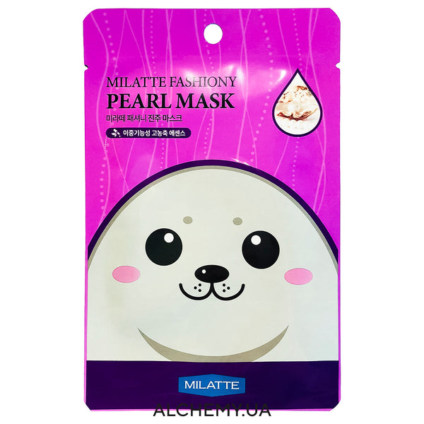 Тканевая маска MILATTE Fashiony Mask Sheet Pearl Alchemy.com.ua
