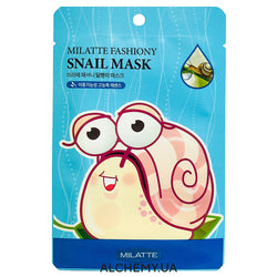 Тканевая маска MILATTE Fashiony Mask Sheet Snail