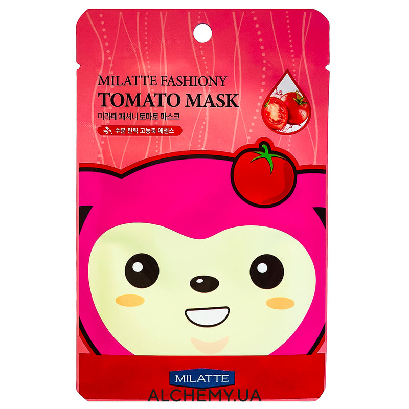 Тканевая маска MILATTE Fashiony Mask Sheet Tomato
