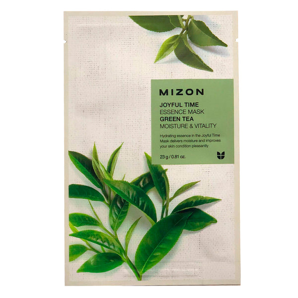 Тканевая маска Mizon Joyful Time Essence Mask Green Tea Moisture & Vitality
