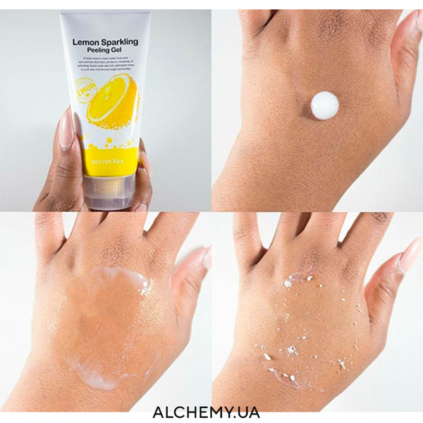 Пилинг-скатка Secret Key Sparkling Lemon Peeling Gel 120ml