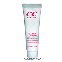 Светлый СС-крем Secret Key Telling U CC Cream 30ml SPF50+PA+++