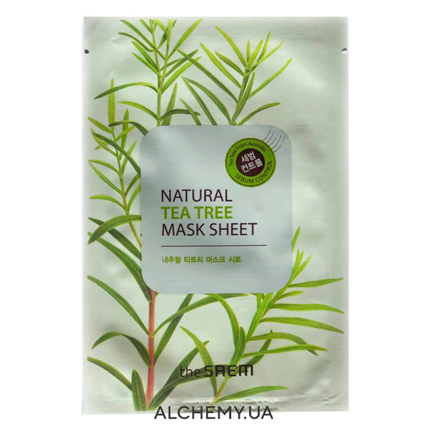 Тканевая маска THE SAEM Natural Mask Sheet Tea Tree