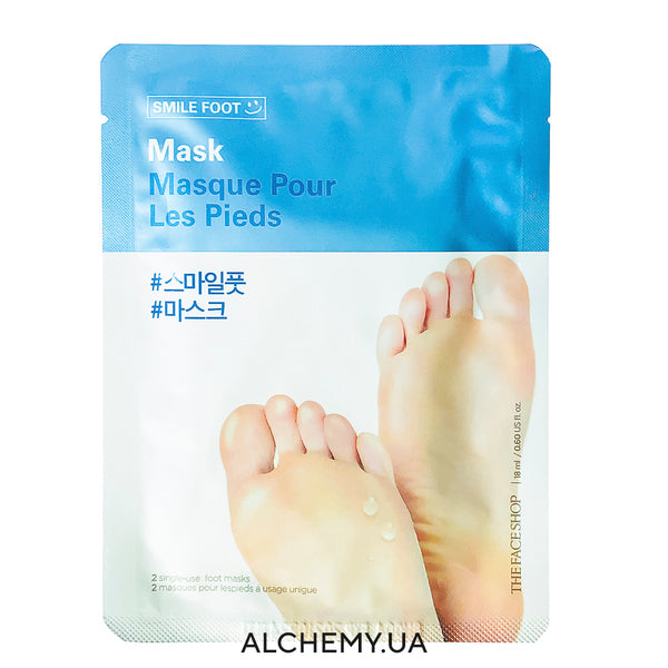 Smyagchayushaya maska dlya nog THE FACE SHOP Smile Foot Mask