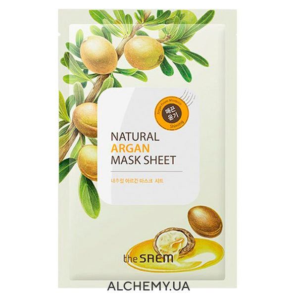 Тканевая маска THE SAEM Natural Mask Sheet Argan