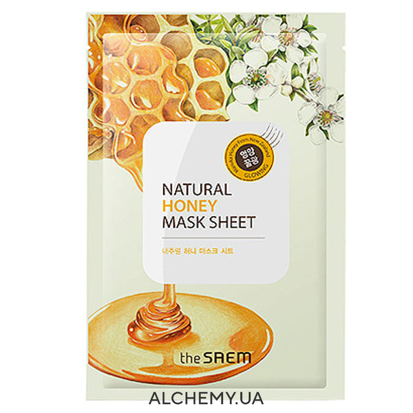 Тканевая маска THE SAEM Natural Mask Sheet Honey