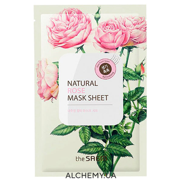 Тканевая маска THE SAEM Natural Mask Sheet Rose