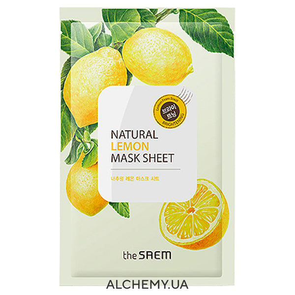 Tkanevaya maska THE SAEM Natural Mask Sheet Lemon