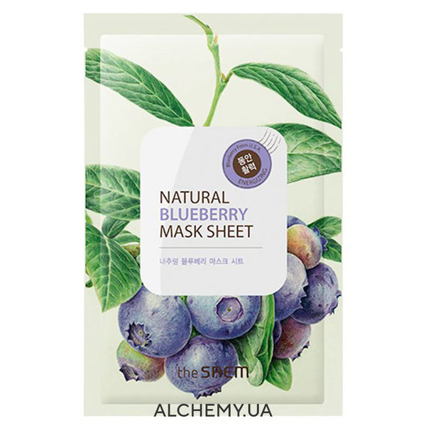 Тканевая маска THE SAEM Natural Mask Sheet Blueberry