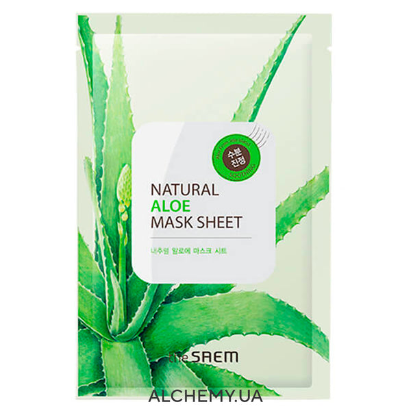 Tkanevaya maska THE SAEM Natural Mask Sheet Aloe