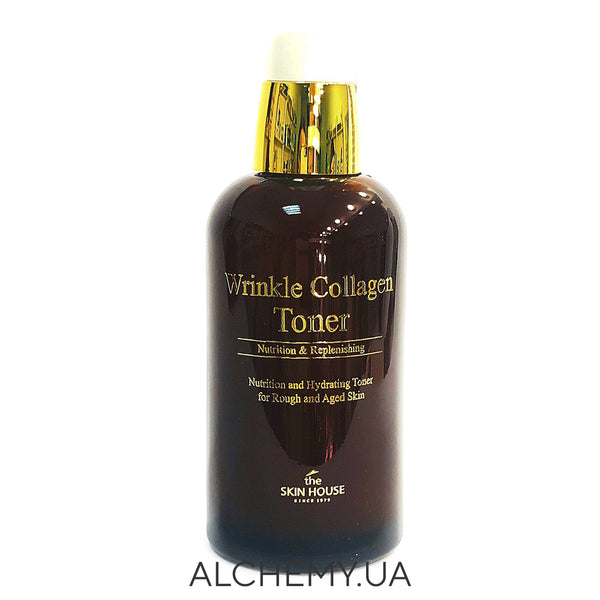 Antivozrastnoj toner s kollagenom THE SKIN HOUSE Wrinkle Collagen Toner - 130ml