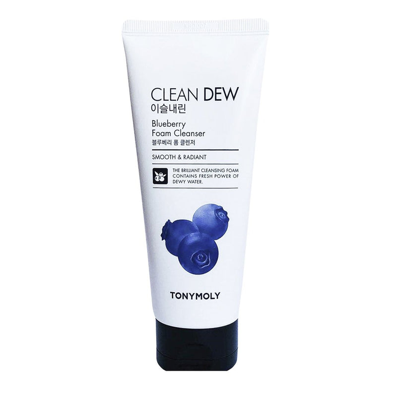 Пенка для умывания с черникой TONYMOLY Clean Dew Foam Cleanser 180ml Blueberry Alchemy.com.ua