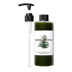 Очищающий детокс-гель  Wonder Bath Super Vegitoks Cleanser Green 200 ml