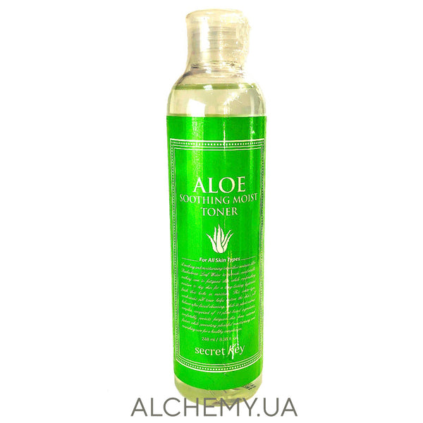 Увлажняющий тонер с алоэ Secret Key Aloe Soothing Moist Toner 248 ml Alchemy.com.ua