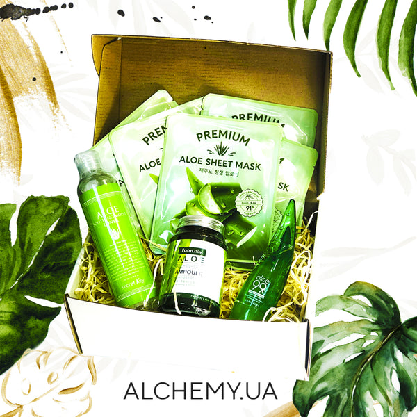 "Бьюти – бокс ALCHEMY Natural ""Aloe MINI"" Alchemy.com.ua"