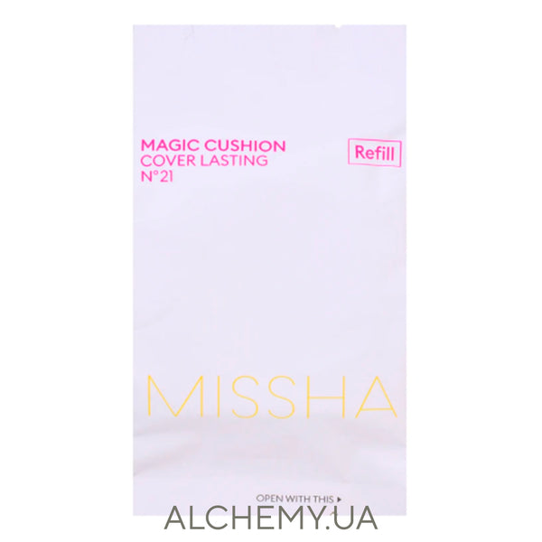Сменный блок MISSHA Magic M Cushion Cover Lasting 15g (SPF50+ PA+++) 21 (REFILL)
