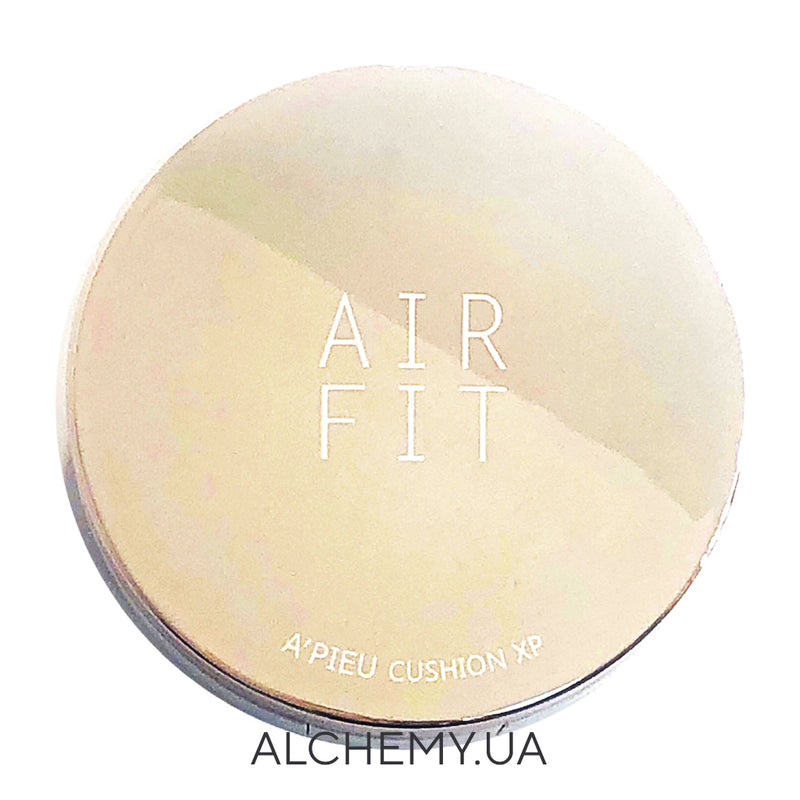 Увлажняющий кушон A'PIEU Air-Fit Cushion XP SPF50+ PA+++ Moisture Type 21 Alchemy.com.ua